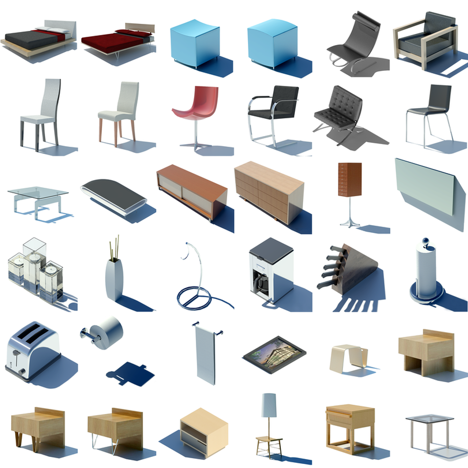 Revit Families - REVIT FAMILIES AND COMPONENTS