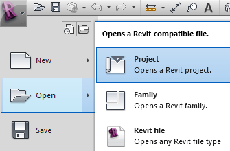 Revit-Project-Open