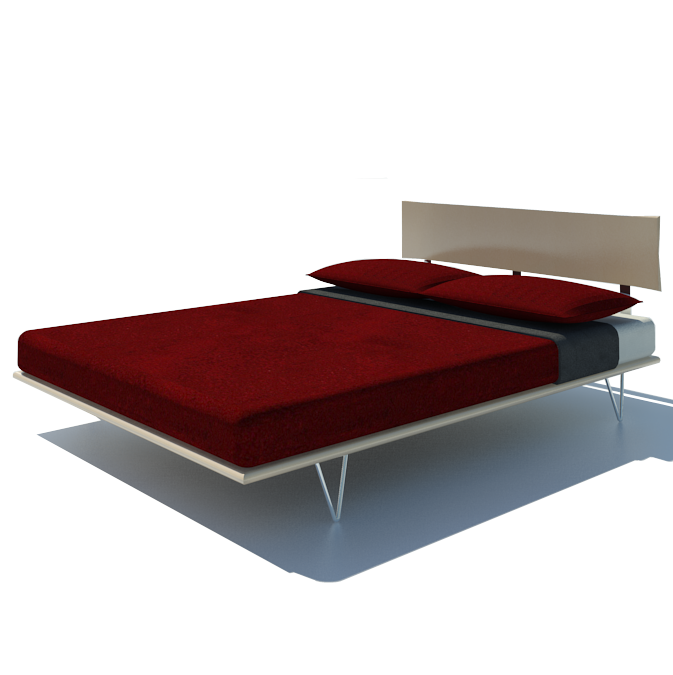 Revit Twin Bed